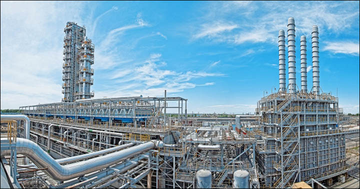 Amur gas and chemical complex