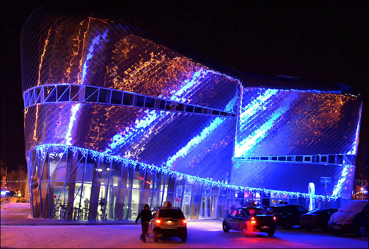 Futuristic Khanty-Mansiysk gives a new image to Siberia ahead of shale revolution.