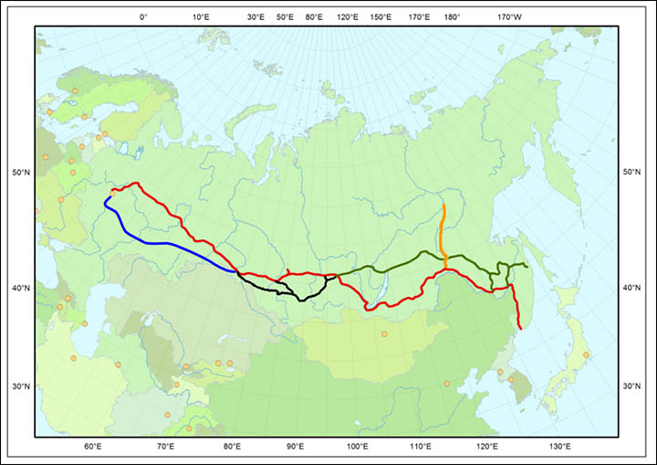 Introducing the great new Siberian railway, opening soon