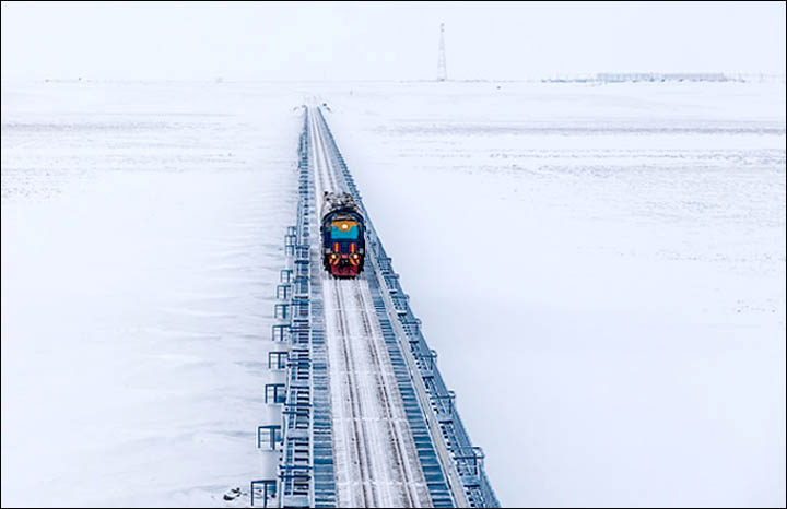 Salekhard - Arctic capital of Russia becoming the bridge between Europe and Asia