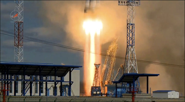 Vostochny first launch