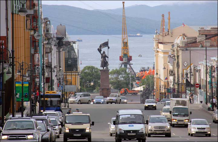 Plans to develop Russky Island as 'a model advanced development area'.