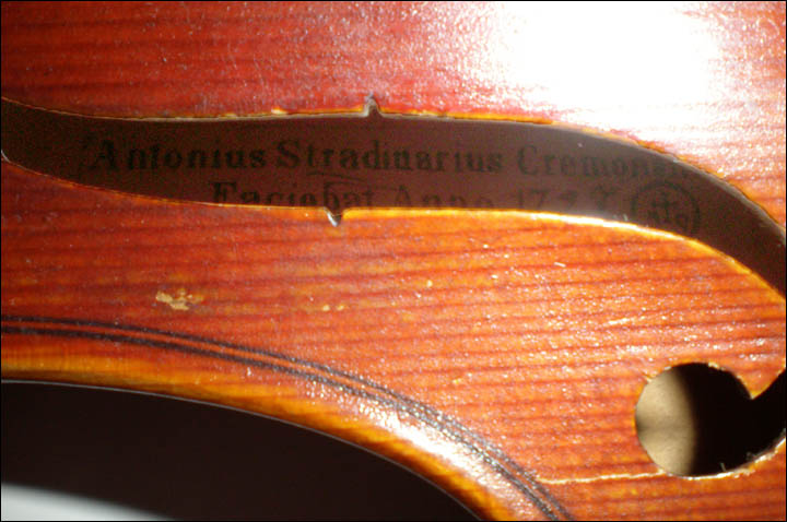 'Stradivarius violin' revealed in Siberia