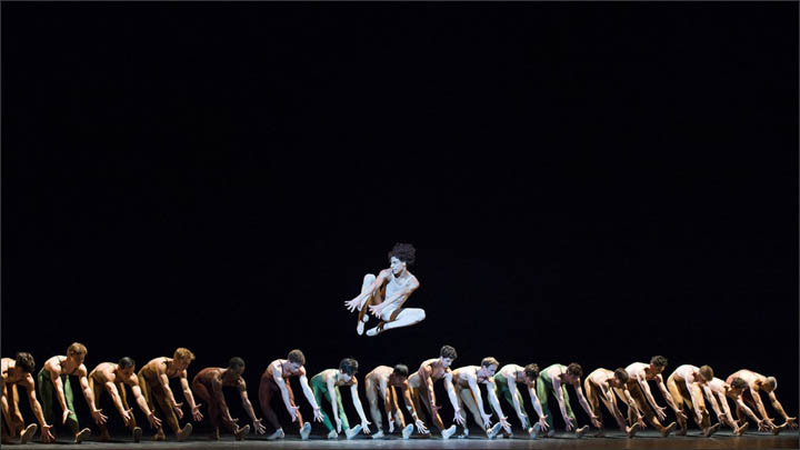 'The Rite of Spring', Stravinsky, in Novosibirsk Opera and Ballet theatre