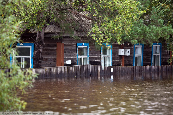 flooding the Far East of Russia, August 2013