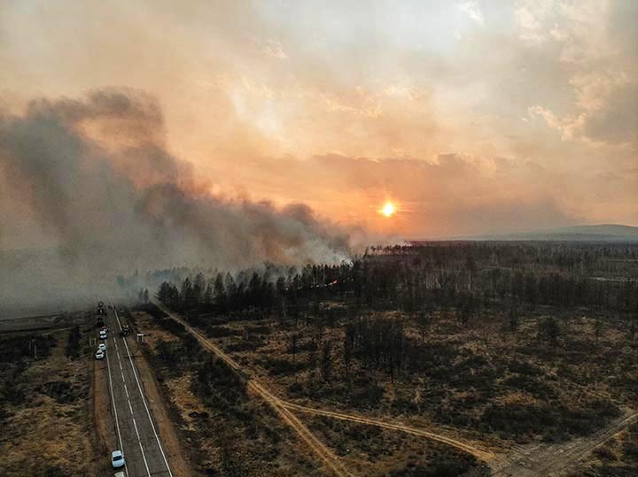 Wildfires 'critical' in Siberia and Russian Far East, up to ten times worse than last year