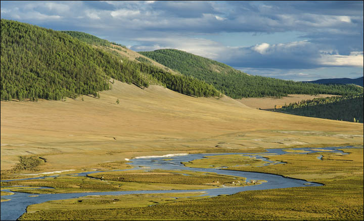 Selenga's springhead in Mongolia