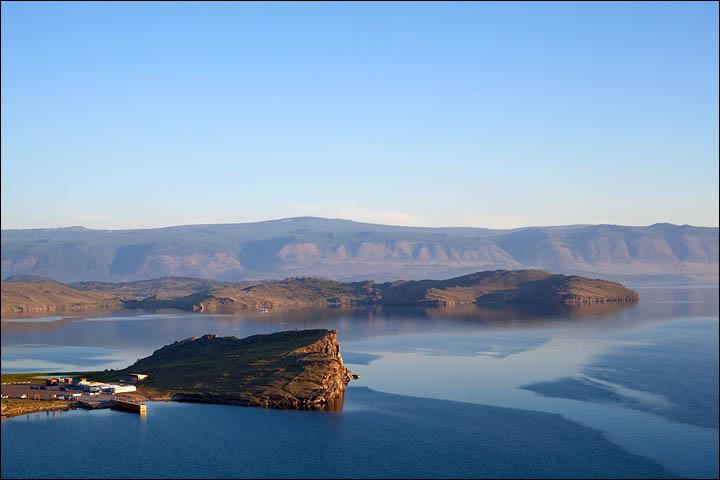 Magnificent lake Baikal