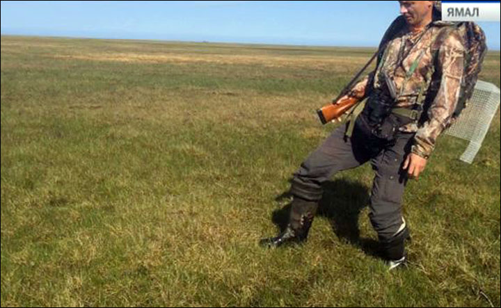 Trembling tundra - the latest weird phenomenon in Siberia's land of craters
