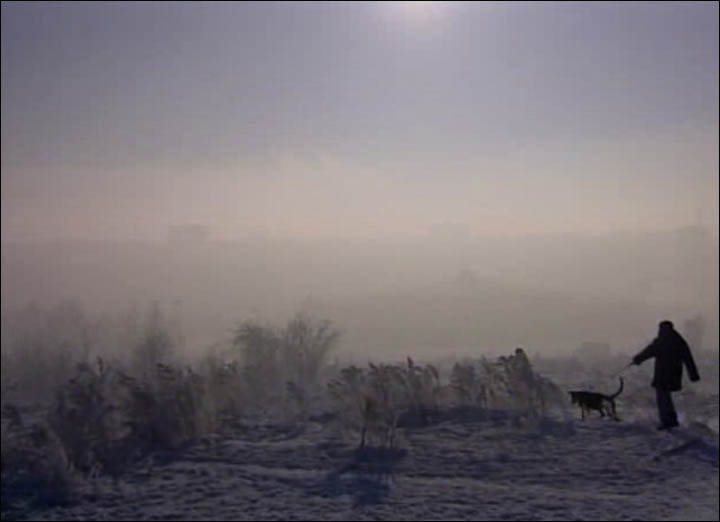 Polluted air in Bratsk