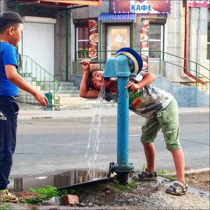 Heat in Ulan-Ude
