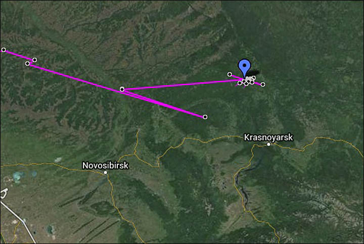 Woodcock, from Cornwall to Krasnoyarsk