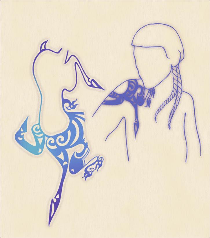 Ukok Princess Tattoo
