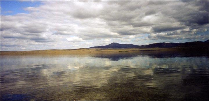 Labynkyr lake, Yakutia