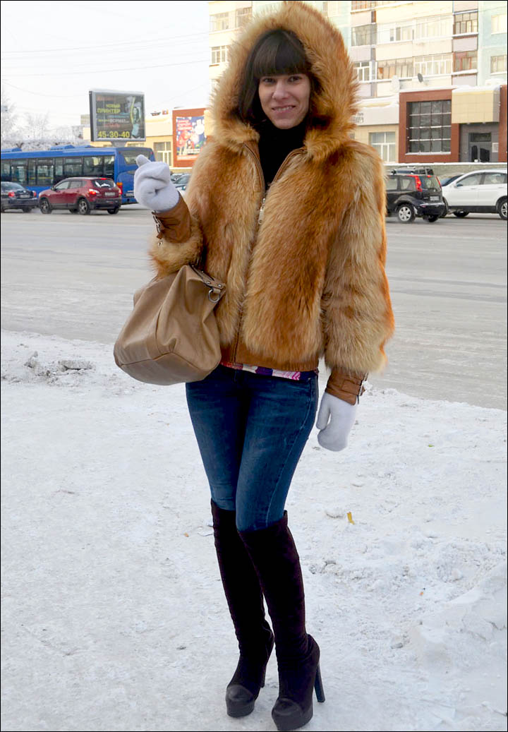 Below minus 40C? Here's how you stay fashionable out in the street