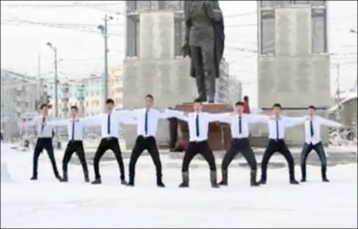 coolest dance in the world