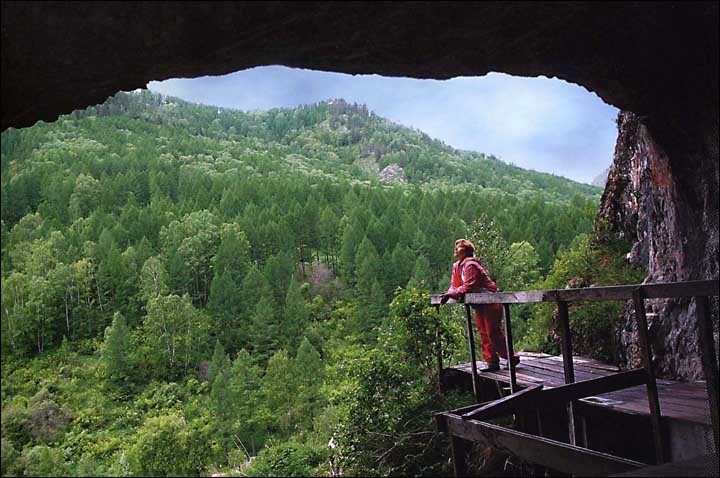 Denisova Cave, Altai Mountains