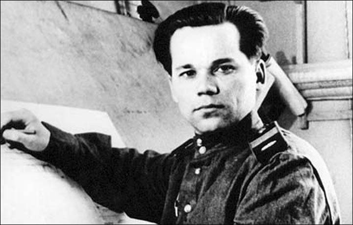 Russian gun-maker and patriot Mikhail Kalashnikov, designer of AK-47 died in December aged 94.