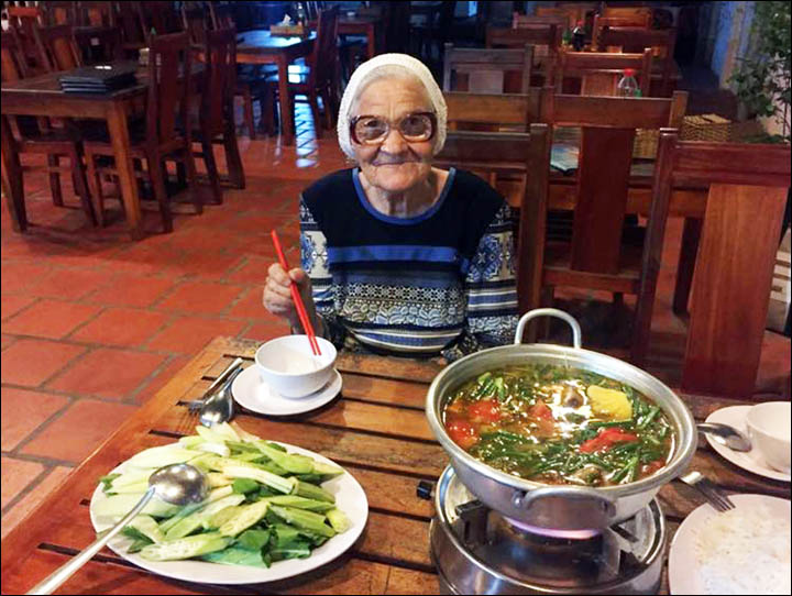 oung at heart - 89 year old backpacking babushka roams the world