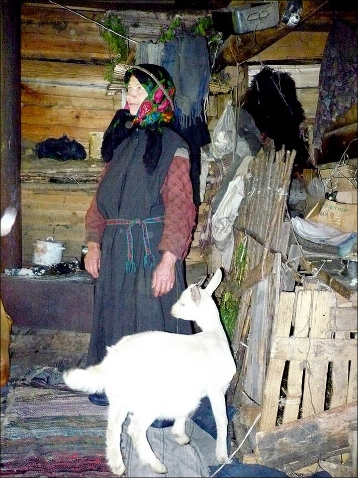 Reclusive Siberian hermit Agafia Lykov comes out of isolation to say Happy New Year