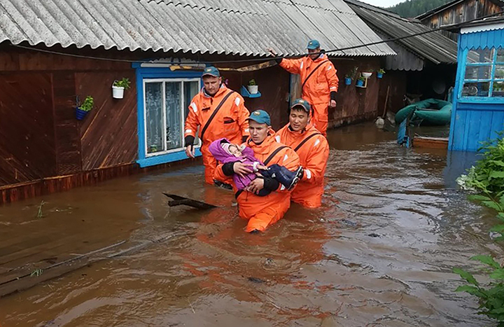 Siberian official in leaked audio scandal for allegedly calling flood victims 'cattle' and 'tramps'