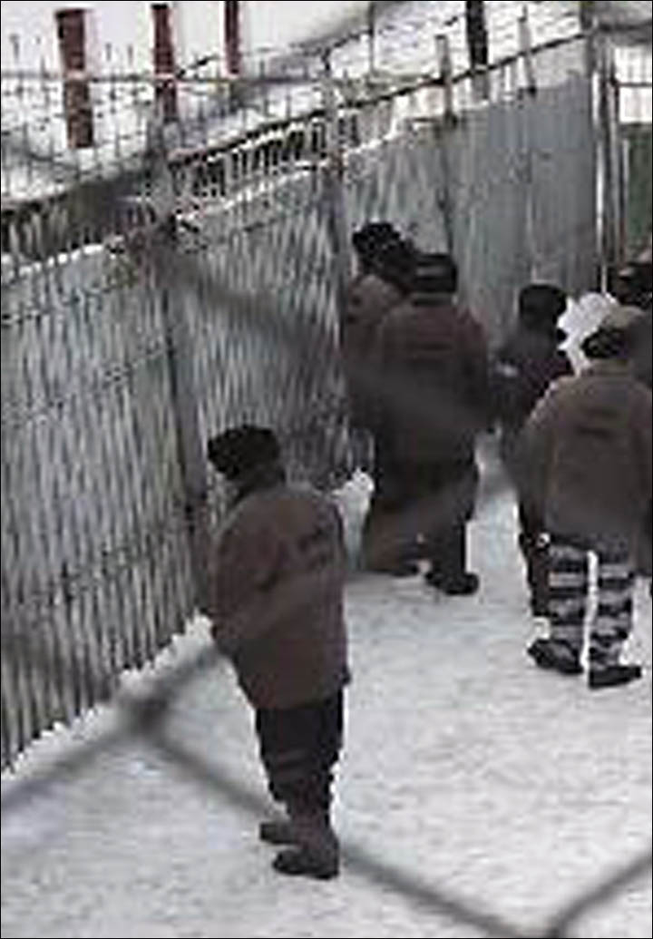 Westerners to go to jails in Siberia