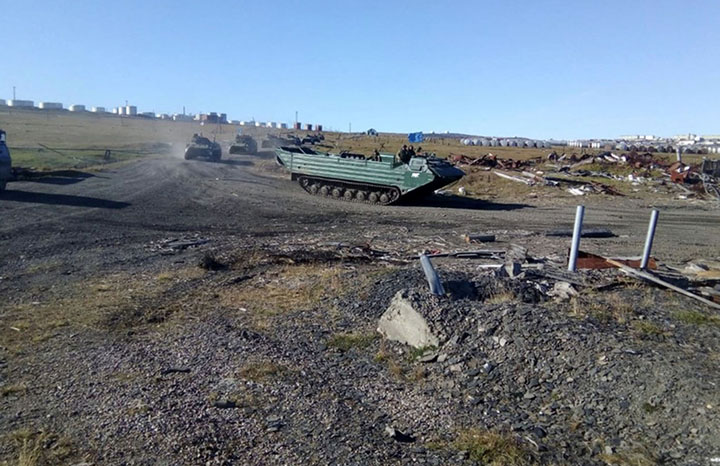 Russia builds new anti-aircraft base in the Arсtic