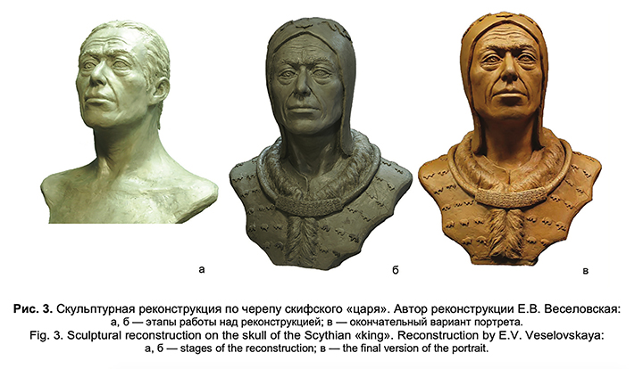 Faces of 'Siberian Tutankhamun' and his 'queen' buried in Tuva some 2,600 years ago reconstructed by science