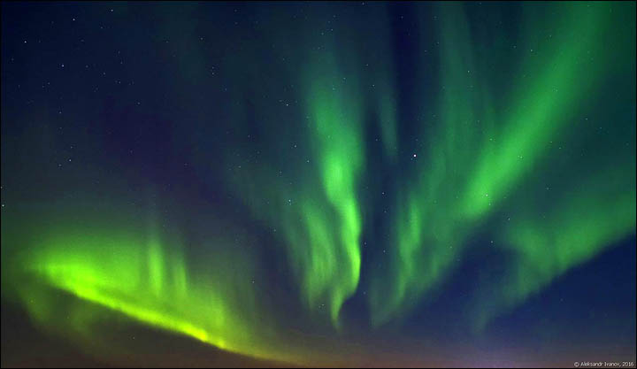 Northern Lights in Norilsk