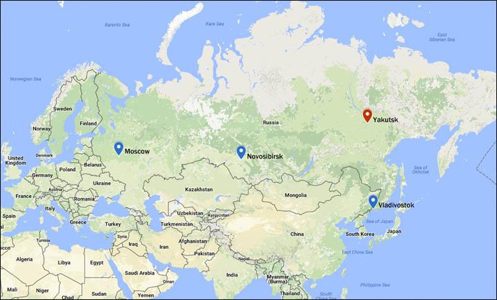 Yakutia Russia Map on vladivostok russia map, khakassia russia map, northeastern russia map, nyagan russia map, yakutsk russia map, chuvashia russia map, verkhoyansk russia map, novgorod russia map, kamchatka peninsula physical map, sakha republic russia map, stavropol russia map, kuril islands russia map, america and russia map, ural river russia map, chelyabinsk russia map, transcaucasia russia map, s the republic and russia map, tuva russia map, chukchi peninsula russia map, yakut map,