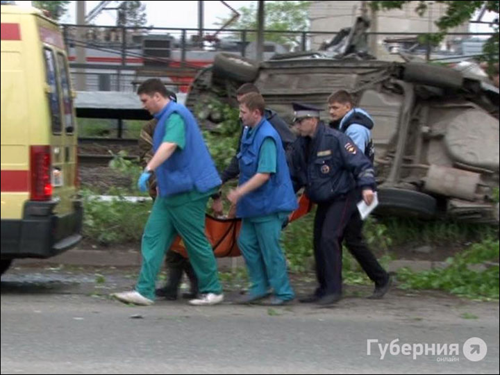 Car crash in Khabarovsk