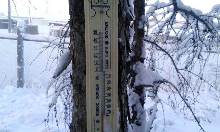 Minus 65 in Oymyakon