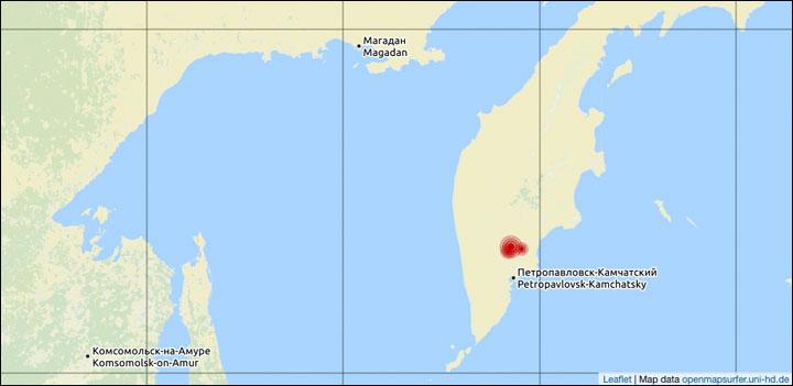 Kamchatka Peninsula On World Map.Kamchatka Peninsula World Map 13375 Trendnet