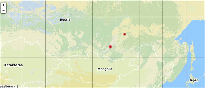 Baikal earthquake
