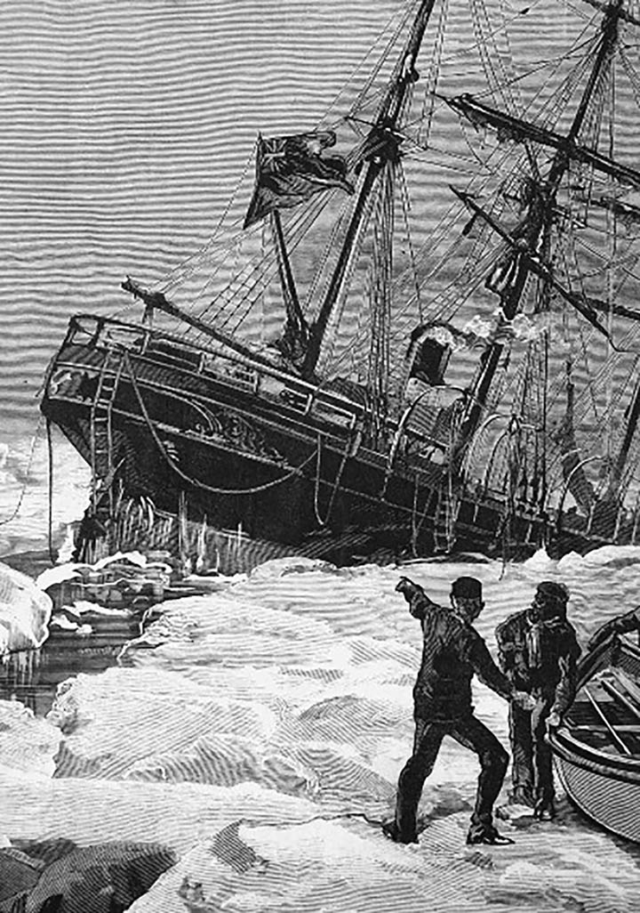 Shipwreck of heroic but unsung British explorer Ben Leigh Smith is 'found' in Arctic waters