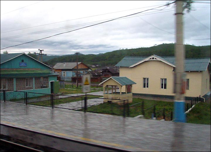Frenchman falls out of train in Siberia