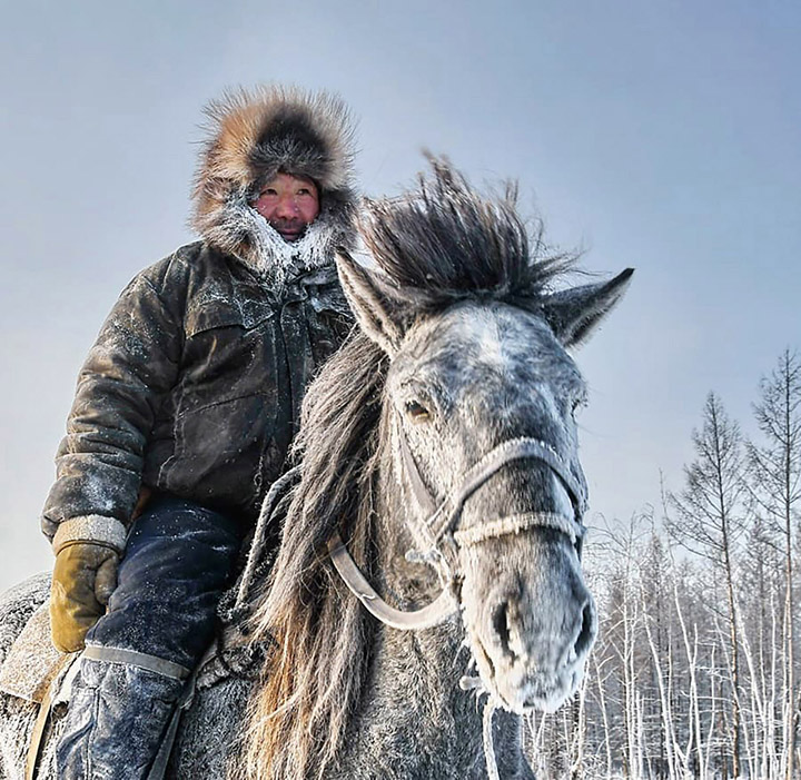 Schoolteacher captivates the world with stunning pictures from the heart of Russia's coldest region