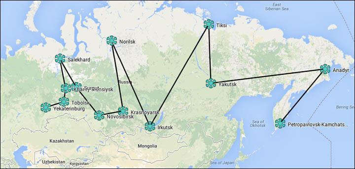Journalist Kate Baklitskaya today begins an epic 3 month tour of some of Siberia's most iconic places.