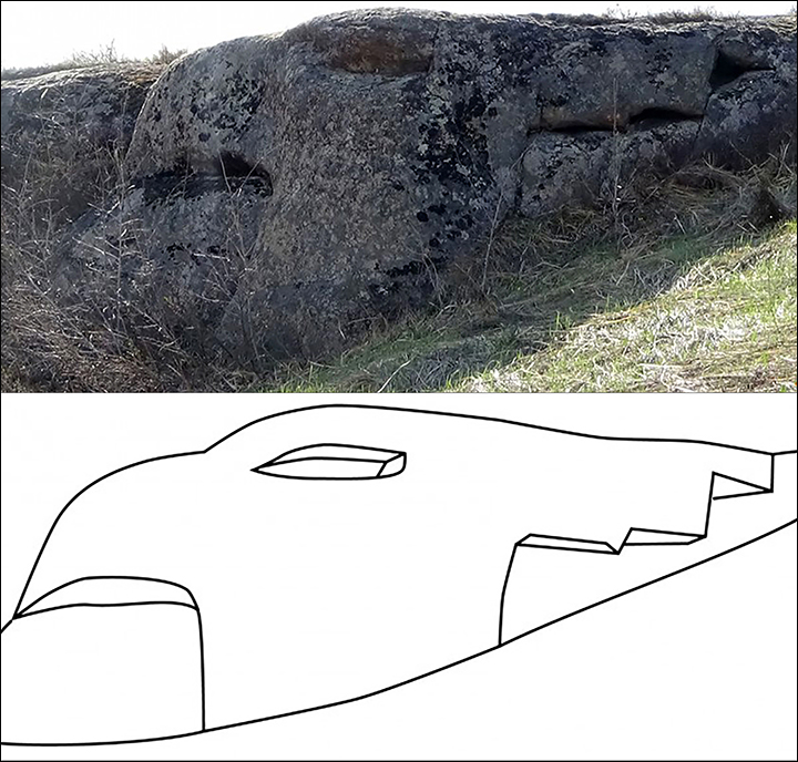 Found: dragon and griffin megaliths 'dating back 12,000 years to end of Ice Age, or earlier'