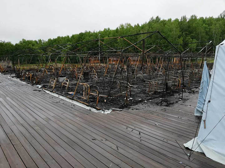 Holdomi after the fire