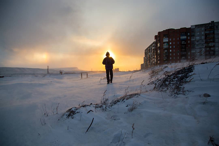 The world's nickel capital Norilsk is gripped by eternal winter