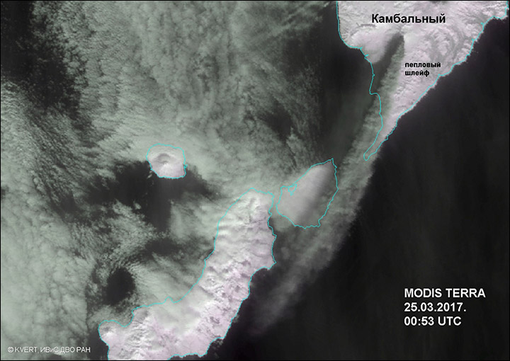 Kambalny volcano erupts for first time since reign of Catherine the Great