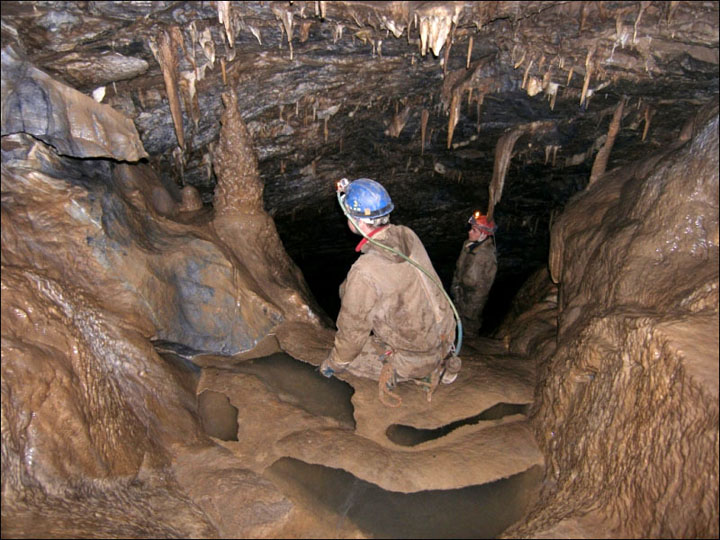 Expedition to the heart of Russia's deepest Palaeozoic cave