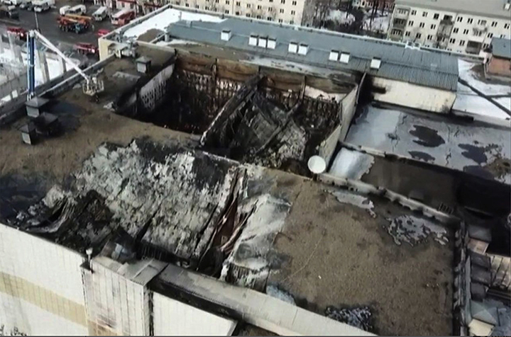 Tragedy as dozens of children among dead in shopping mall inferno in black day for Siberia