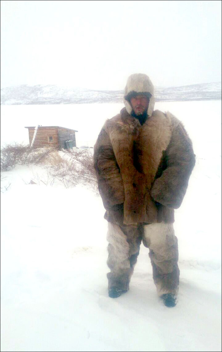 Andrey Solovyev keeps a lonely all-winter vigil at Lake Labynkyr in search of the legendary Labynkyr