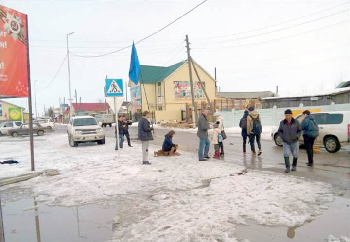 Lion attacks nine year old girl in coldest region in Russia