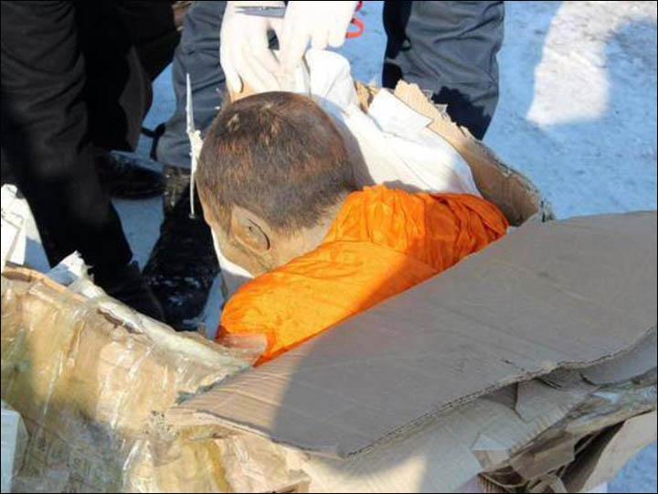 Mongolian mummified monk 'was disciple of one of great