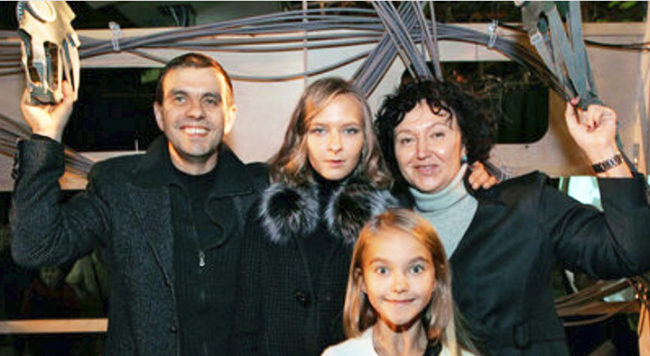 Natalia Fileva with family
