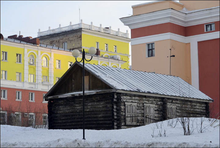 First house in Norilsk