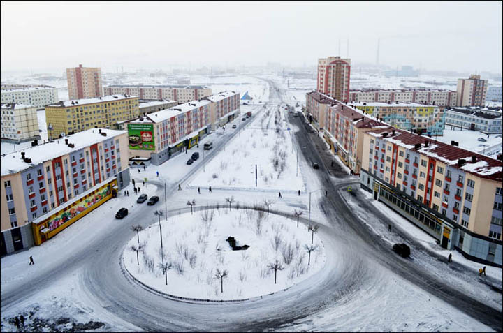 Norilsk view from the top